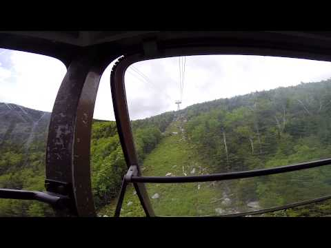 CANNON MOUNTAIN AERIAL TRAMWAY ASCENT 6\21\14
