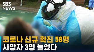 코로나 신규 확진 58명…사망자 3명 늘었다 / SBS