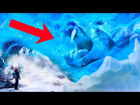 CREEPIEST Things Found Frozen In Ice!