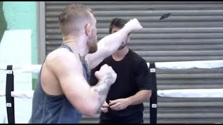 Conor McGregor Card Punch Drill Explained ■ Weird Boxing Workouts ■ W/ Vasyl, Floyd, Guillermo