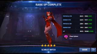 marvel future fight unlock  scarlet witch and Timeline Battle