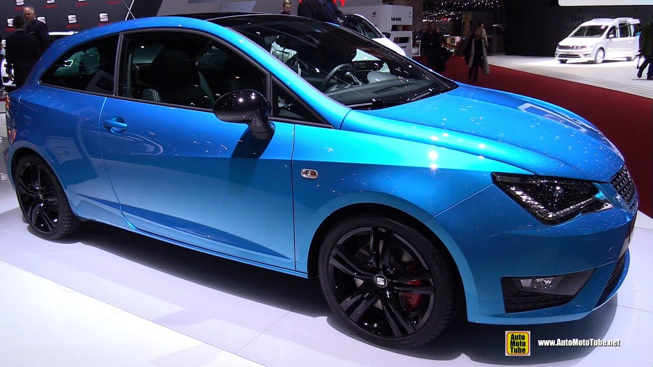 2015 seat ibiza sc cupra exterior and interior walkaround 2015 geneva motor show youtube. Black Bedroom Furniture Sets. Home Design Ideas