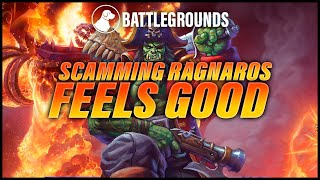Scamming Ragnaros Out of a Win Feels Good | Dogdog Hearthstone Battlegrounds