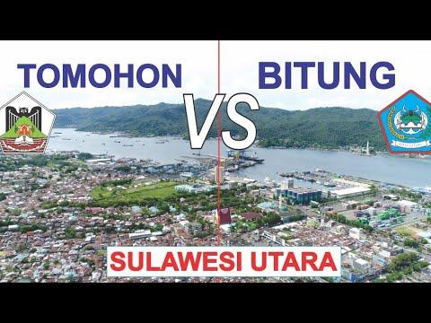 Kota Bitung VS Kota Tomohon di Provinsi Sulawesi Utara