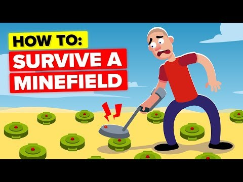 How To ACTUALLY Escape And Survive An Active Minefield Alive