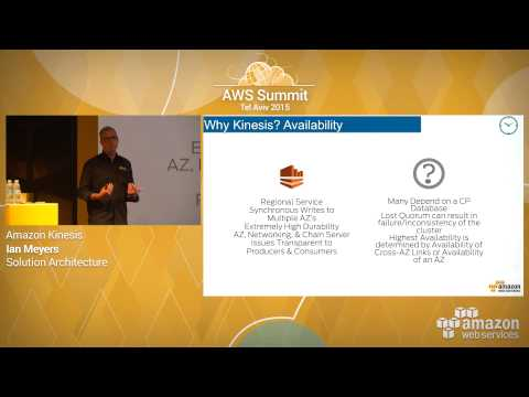 AWS Summit Series 2015 | Tel Aviv: Amazon Kinesis