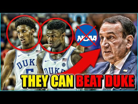 Why THESE Teams Can EXPOSE Duke In The NCAA Tournament And STOP Zion Williamson!