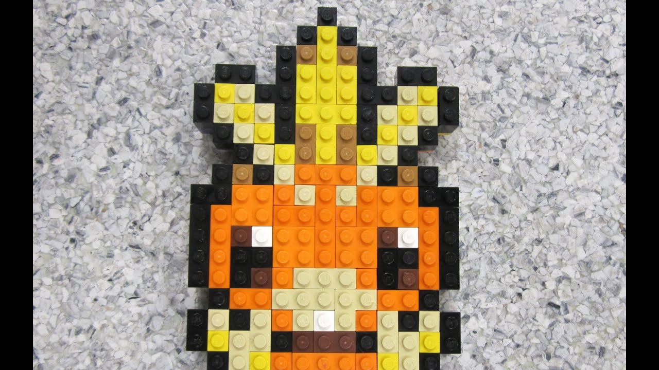 Lego Torchic Pokemon Ruby And Sapphire Youtube
