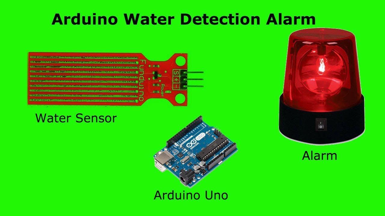 Arduino Water Detection Alarm (Water Sensor + Speaker)