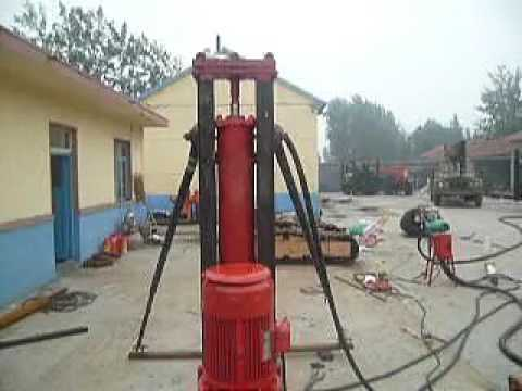 LD100 rock drilling rig for blast hole