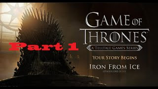 Game of Thrones | Telltale Games | Episode 1 Part 1