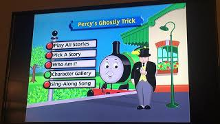 Percy's Ghostly Trick DVD Menu Walkthrough