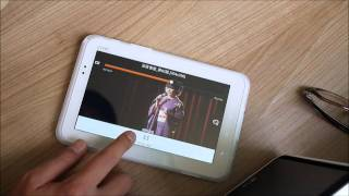 아이리버탭 동영상 플레이어 사용 동영상
