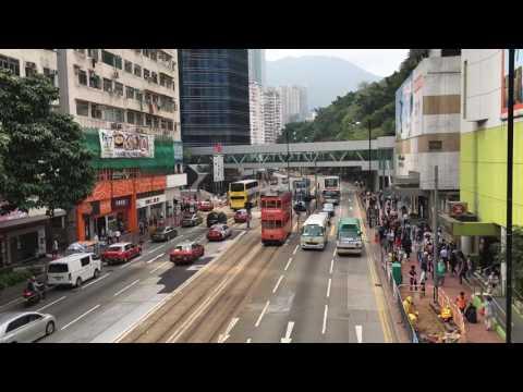 Time lapse of Quarry Bay, Hong Kong