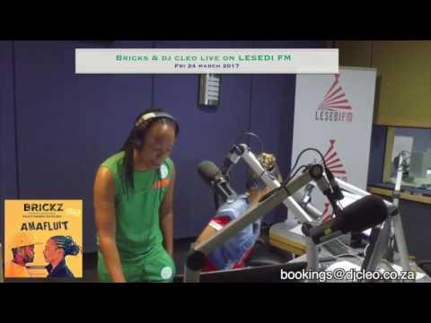 Brickz ft dj Cleo - amafluit on Lesedi fm