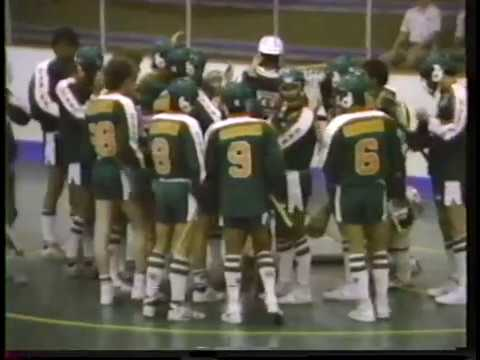 1985 Junior A Lacrosse - Burnaby @ Richmond BCJALL