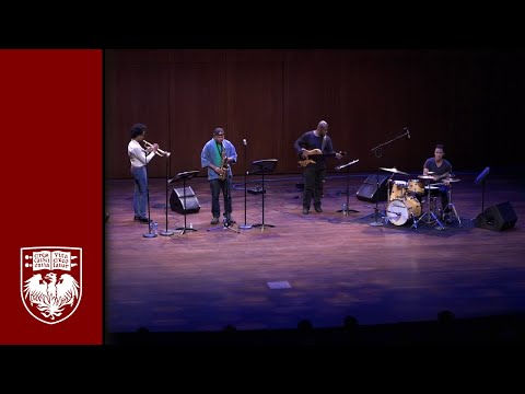 """Steve Coleman And The Five Elements """"The Eagle And The Lark"""" Rosenberger Medal Performance Interview"""