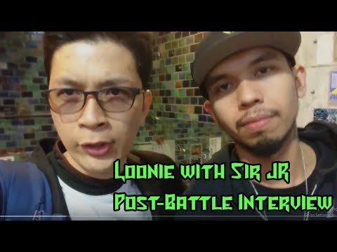 Post-Battle Interview with Loonie for 052 Rap Battles in Nagoya, Japan  ᴴᴰ