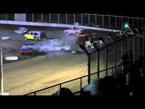 Kennedale Speedway Park Trailer Race