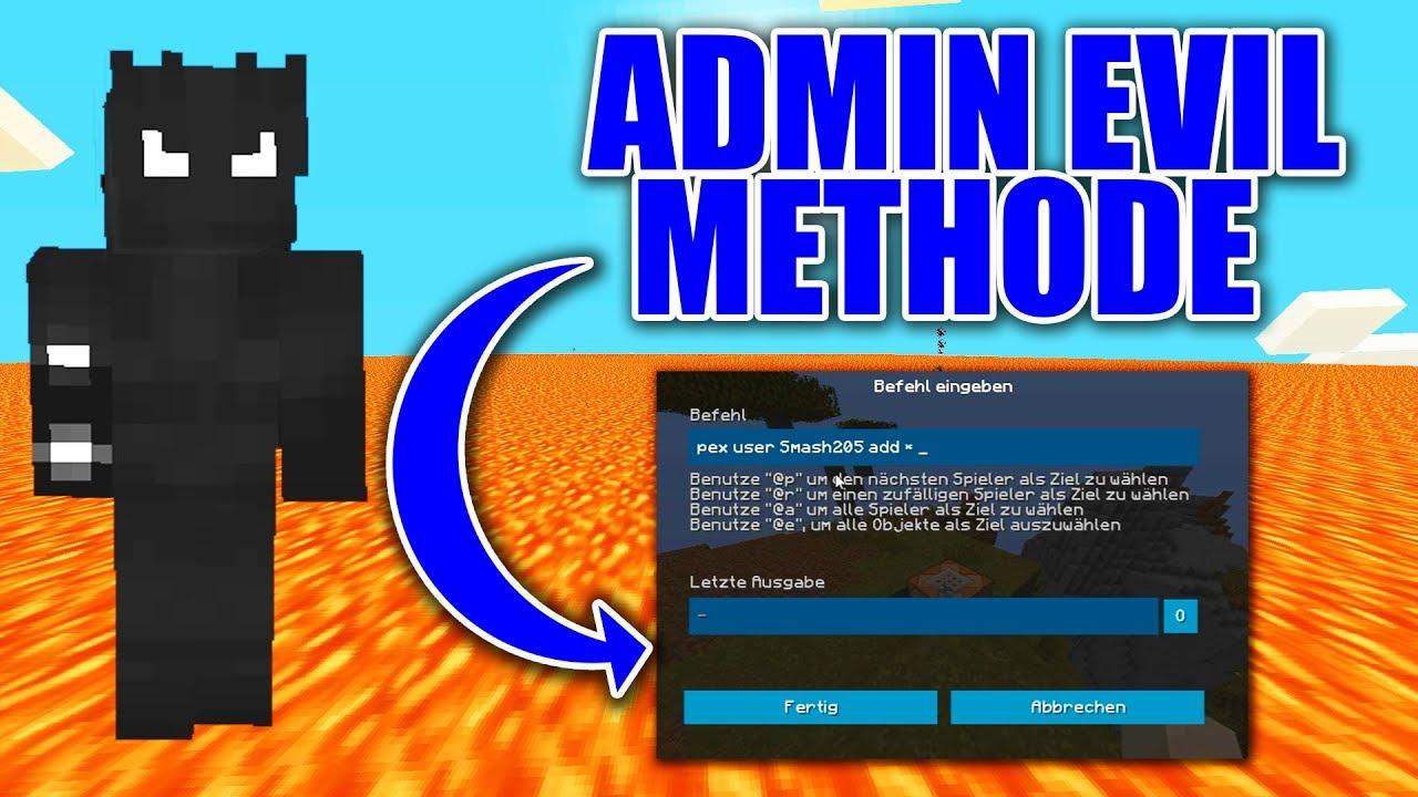 minecraft admin befehle