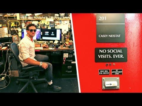 Casey Neistats Wildly Functional Studio