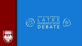 The 67th Annual Latke-Hamantash Debate