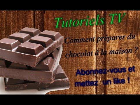 Comment préparer du chocolat facilement à la maison ?