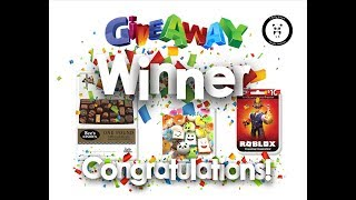 Giveaway Winner See's Candies Squishies Roblox