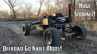 420cc Lifted Go Kart Gets Off-Road Upgrades!