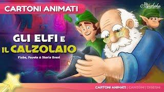 Gli Elfi e il Calzolaio storia per bambini   Cartoni animati