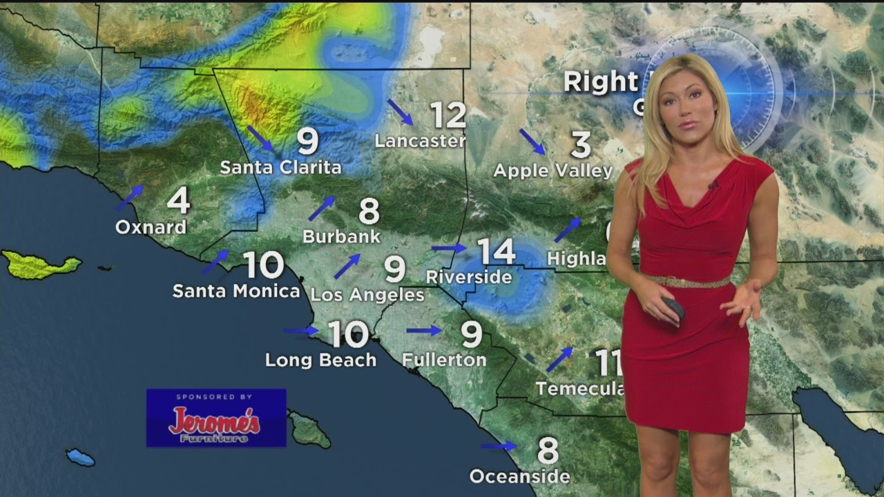 Jackie Johnson's Weather Forecast (March 9)   YouTube