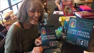Vincentia Schroeter Ph.D., B & N Book Signing -  9.29.18