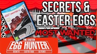 Need For Speed Most Wanted U Easter Eggs - The Easter Egg Hunter