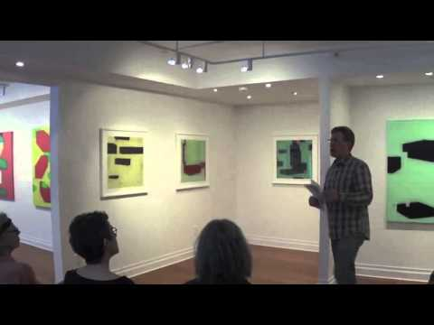 Steven Baris - Artist Talk at dm contemporary NYC (April 12, 2014)