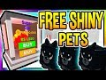 FREE SHINY SUPER EGG PETS IN Roblox Magnet Simulator