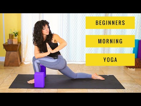 Morning Yoga for Beginners - 30 min Energizing Stretch for Complete Beginners
