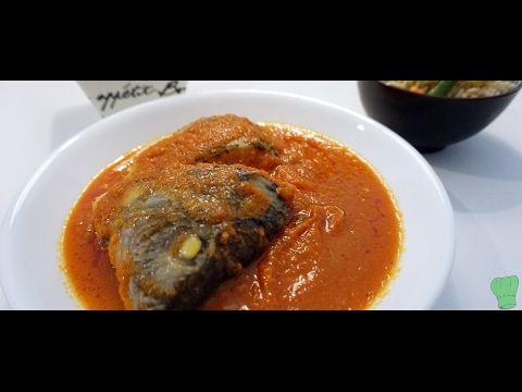 How to make fish stew easy nigerian fish stew for How to make fish soup