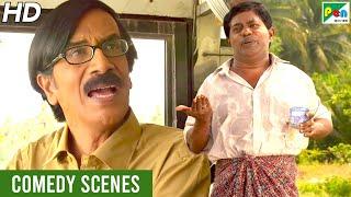 दुश्मन ज़माना - बेस्ट कॉमेडी सीन्स   हिंदी डब फिल्म   मारुति वसंत, मृदुला बस्कर