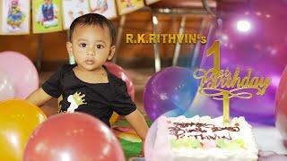 R.K.Rithvin's First Birthday | Madurai | PixeltrixStudio