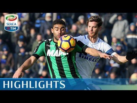 Sassuolo - Inter - 0-1 - Highlights - Giornata 17 - Serie A TIM 2016/17