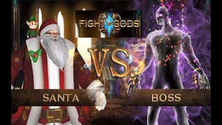 Fight of Gods - Santa Claus vs. The Mysterious End Boss!