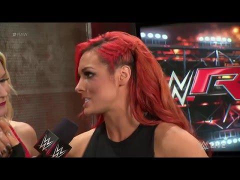 Dana Brooke ambushes Becky Lynch: Raw, May 9, 2016