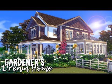 Gardener's Dream Home    The Sims 4: Speed Build