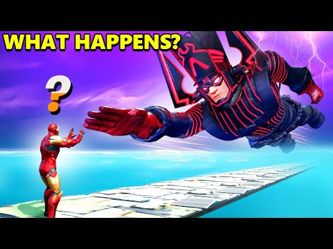 What Happens if We Meet Boss Galactus in Fortnite (Galactus Live Event)