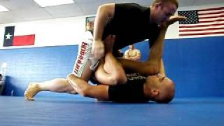Zingano BJJ - Denver, Colorado. Master Zingano Working Guard