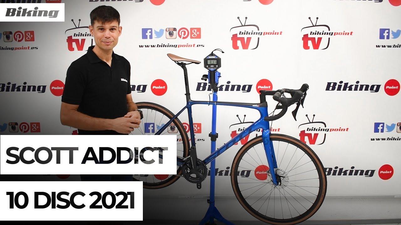 Bicicleta Scott Addict 10 Disc 2021 | Presentación