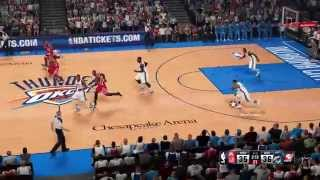 [PS4] NBA 2k15: Oklahoma City Thunder vs Houston Rockets | Full Game (1080p)
