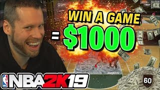 I gave Kids $1000 to WIN a game on NBA 2K19