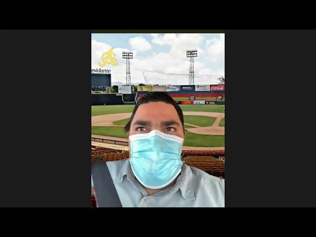 Encuentro virtual con el gerente general de Águilas Cibaeñas, Ángel Ovalles