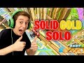 Solid Gold Solos NEW LEGENDARY ONLY In Fortnite Battle Royale mp3